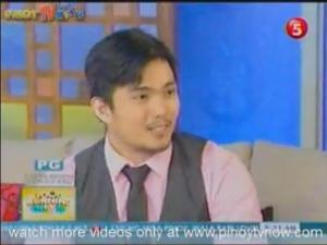 X Arts' Ryu on Television (TV5) for Interview
